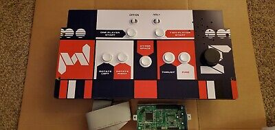 Arcade1up Asteroids Control Panel, PCB and Ribbon - Tempest, Major Havoc, Lunar