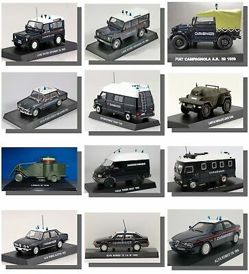 New, Carabinieri, Collection, Police, Military, 1:43