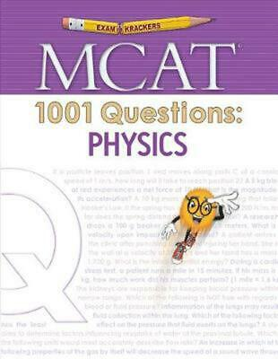Examkrackers MCAT 1001 Questions: Physics (English) Paperback Book Free Shipping