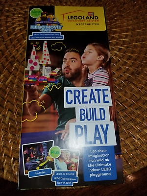 Legoland Discovery Center Westchester 4 donation tickets