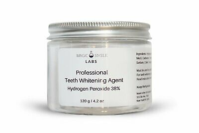 High Strength Teeth Whitening Agent (38% Hydrogen Peroxide) 40 Patients