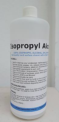 1L 100% Pure Isopropyl Alcohol Isopropanol Ipa Pcb Cleaner Isopro