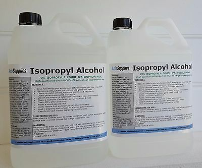 10L 70% Isopropyl Alcohol Isopropanol Ipa Pcb Cleaner Isopro