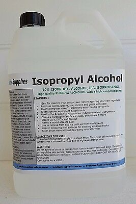 5L 70% Isopropyl Alcohol Isopropanol Ipa Pcb Cleaner Isopro