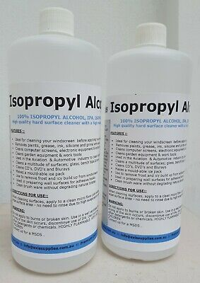 2L 100% Pure Isopropyl Alcohol Isopropanol Ipa Pcb Cleaner Isopro