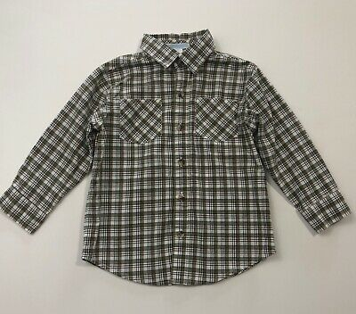 JANIE AND JACK Fall Frontier Boys Plaid Button Up Shirt Size 2T