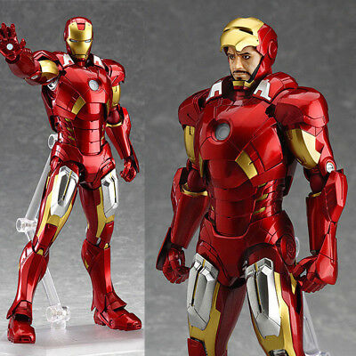 The Avengers Marvel Iron Man Mark 7 PVC Action Boxed Figure Collection USA