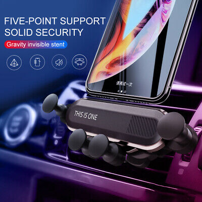 HOT Universal 360° Gravity Car Air Vent Mount Holder Stand Mobile Cell Phone GPS