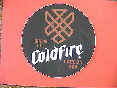 """Coldfire Cold Fire Brewing Co. 5"""" Decal Sticker Craft Beer Brewery Oregon"""