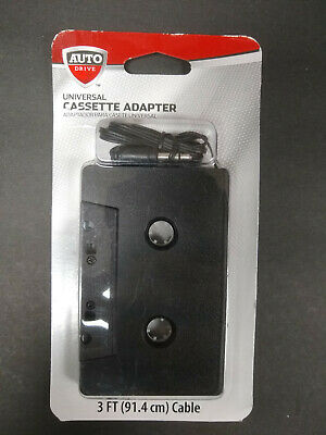 Cassette Tape Adapter ~ Iphone ~ Android ~ 3.5mm ~ Fast Shipping from California