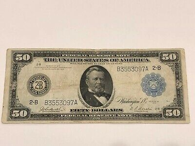 Series 1914 $50 Federal Reserve Note, Federal Reserve Bank of New York