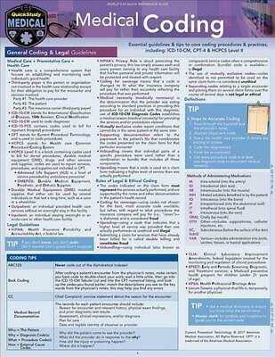 Medical Coding: A Quickstudy Laminated Reference Guide by Shelley C. Safian (Eng