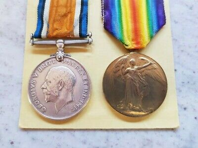 Wwi Pair To 28Th Battalion Soldier Dow 1917