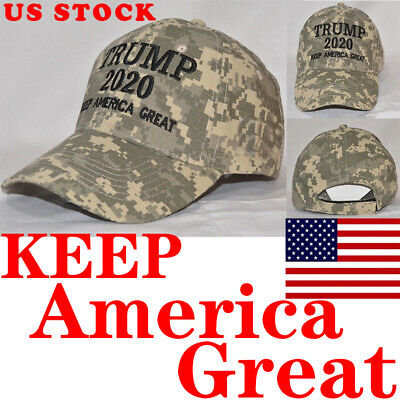 Donald Trump 2020 Keep America Great Cami Cap President Election Camo MAGA Hat