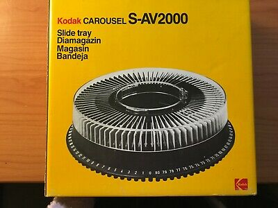 Vintage Kodak Carousel Slide Tray S-AV2000 - In Original Box Made in Germany