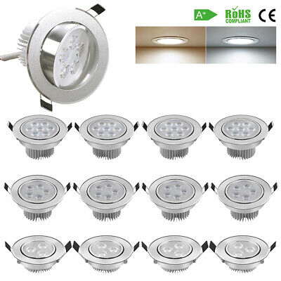 4x8x 3W 5W 7W Dimmable LED Spot luminaire encastrable Downlight Kit plafonnier