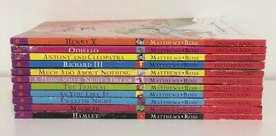 The Shakespeare Stories, 11 Book Bundle, Anthony & Cleopatra, (e)