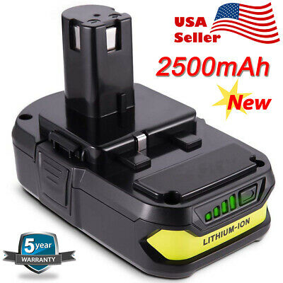 For RYOBI P109 ONE+ 18 Volt 18V Cordless Power Tools Battery P107 P102 P191 P104