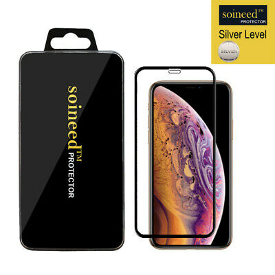"""[1-Pack] Tempered Glass Screen Protector FULL COVER For Apple iPhone X / XS 5.8"""""""