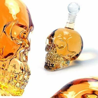 Crystal Skull Head Glass Vodka Bottles Skull Bottle Gothic Wine Vodka Decanter