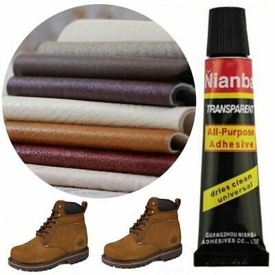 Contact cement glue adhesive rubber leather fabrics patch sole heel Valuable HOT