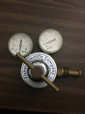 Fisher Scientific Gas Pressure Regulator FS-50