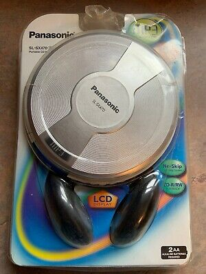 Panasonic MP3 Portable CD Player SL-SX470 (Brand New) SEALED