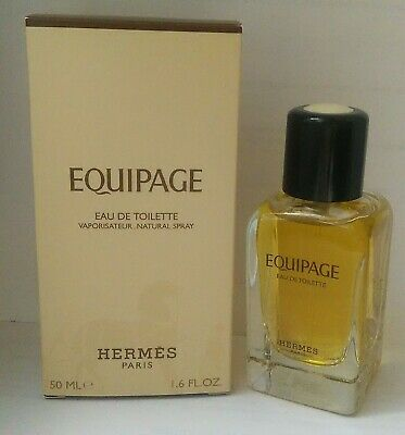 Authentic 100% Hermes Equipage EdT 1.6oz 50ml Spray Old Version Free Ship