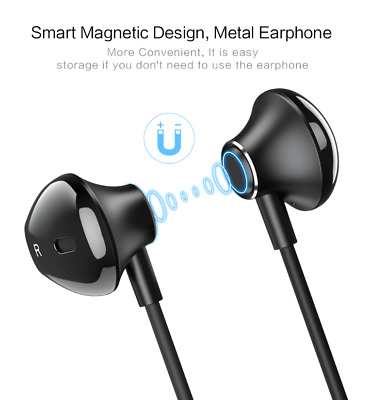 For iPhone 7, 7 plus, 8, 8 Plus, X, XS, XR, XS Max 2 in 1 Magnetic Earphones