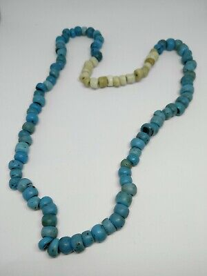 19th century antique African trading glass beads necklace #971819