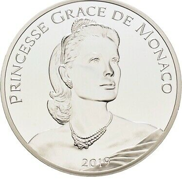 MONACO 10 Euro 2019 - Princesse Grace KELLY - BE Proof tirage de 5000 !!!