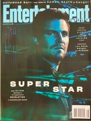 Entertainment Weekly - AUGUST, 2019 - SUPER STAR - Cover # 1 of 5 -  ARROW