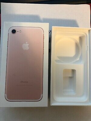 Empty BOX ONLY!!! Apple iPhone 7 NO Phone BOX ONLY!! READ AD PLEASE