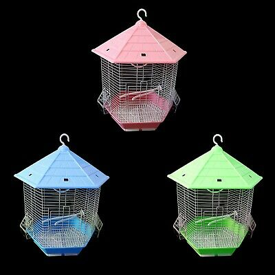 Small Bird Canary Finch Budgie Cage Pull Out Tray Feeders Handle New 26 X 30 Cm