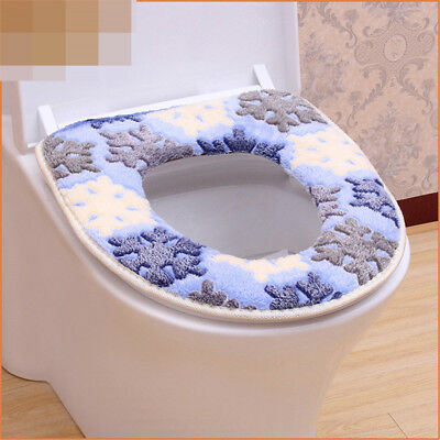 toilet mat soft toilet seat heated closestool pad washable toilet seat cover SC