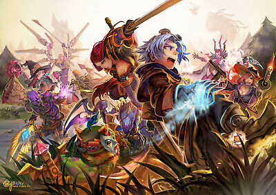 League of Legends Poster   A4 A3 & A3+ Sizes Laminated   HD Print    Gaming
