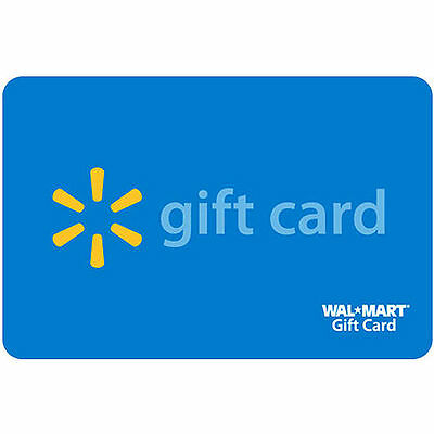 $300 New and Unused Walmart Gift Card