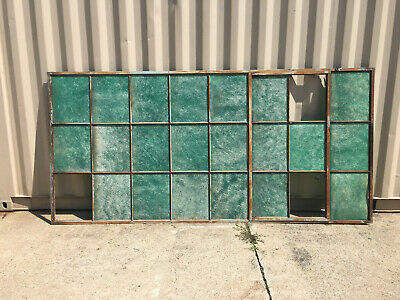 Large Steel Industrial Casement Factory Window Salvage Reclaimed Architectural