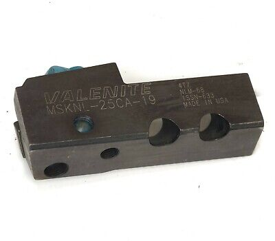 Walter Valenite MSKNL-25CA-19 Indexable Turning Tool Holder NLM-68 ISSN-663