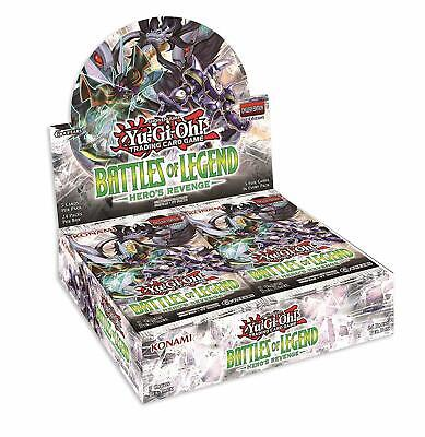 Yu-Gi-Oh! TCG Battles of Legend Hero's Revenge Booster Display (24 Booster Packs
