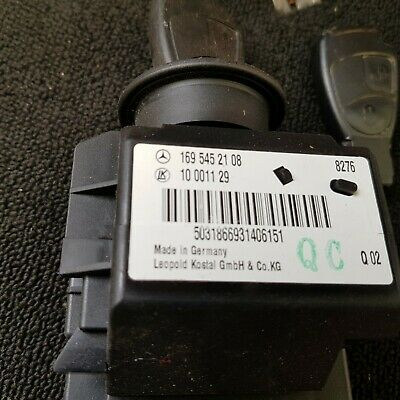Mercedes A150 Ignition Set 2 Keys