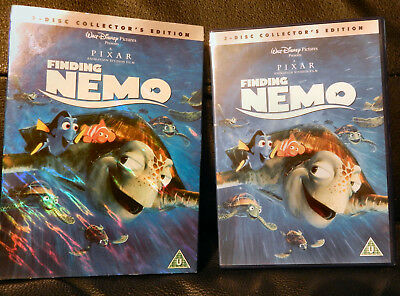 Finding Nemo DVD, 2004, 2-Disc Collectors Edition. Holographic Slipcase.