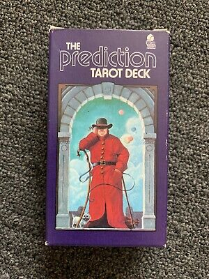 Vintage 1985 Tarot Card Deck Peter Richardson Belgium Cards