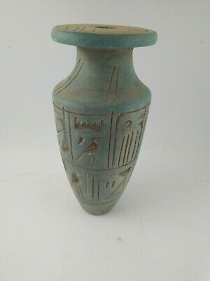 RARE ANCIENT EGYPTIAN ANTIQUE, NEW KINGDOM. Vase AMULET. 1100-500 B.C