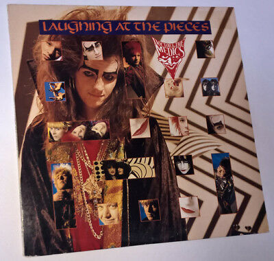 DOCTOR & THE MEDICS Laughing At The Pieces 1986 VINYL LP IRS 5797 Psych GLAM