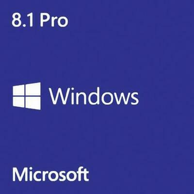 Win 8.1 Pro 32/64 Bits Original Multilanguage Key Windows