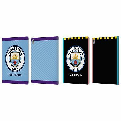 MANCHESTER CITY MAN CITY FC 2019/20 BADGE KIT LEATHER BOOK CASE FOR APPLE iPAD