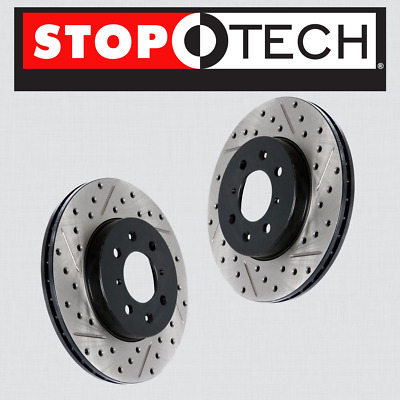 Stop Tech 127.66057L Sportstop Slotted and Drilled Brake Rotor