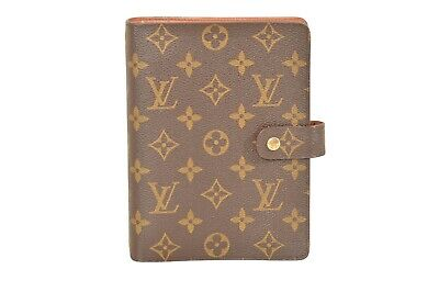 Louis Vuitton Monogram Agenda MM Diary Cover Organizer R20105 - YF01244