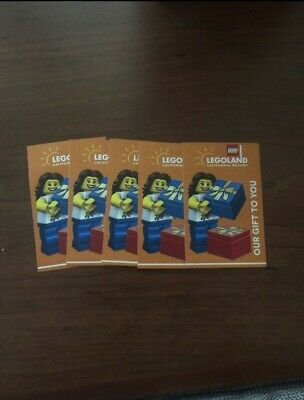 5 LEGOLAND + SEA LIFE Aquarium Tickets California ( 1Day SEA LIFE HOPPER TICKET)